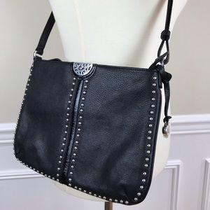 Brighton | Leather studded crossbody bag